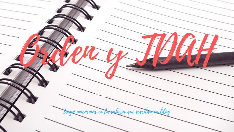 El uso de agendas, cuadernos y otros para los TDAH